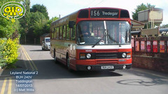 GWR TODDINGTON BUS RALLY 2013 LEYLAND NATIONAL 2 BUH 240V 14072013 (MATT WILLIS VIDEO PRODUCTIONS) Tags: 2 bus buh rally national leyland 240v gwr toddington 2013 14072013