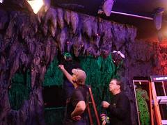Bat cave build (Pywackyt) Tags: painting led electronics props bats sculpting texturing setdec scenicdesign setdecorating setbuilds