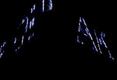 night talk (christophhornung142) Tags: red green rot colors yellow night licht neon purple nacht sony illumination gelb edge cube blau farbe bume gebude mannheim reklame violett luisenpark langebelichtung strucher winterlichter sonyalpha6000 stimmunglichtknstler