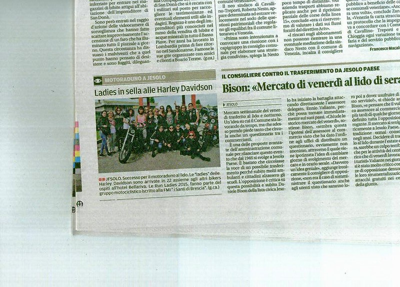 giornale x run ladies  2015
