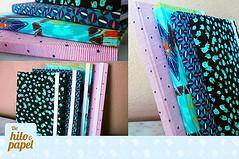 Tradicional tipo Moleskine (Vita-design) Tags: notebook handmade crafts bookbinding cuaderno libretas encuadernacin dehiloypapel