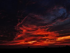 high drama....(Explored) (BillsExplorations) Tags: winter sunset sky color weather clouds illinois dreary drama cloudsstormssunsetssunrises