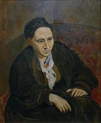 Picasso, Portrait of Gertrude Stein, 1905-06