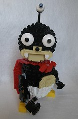 Futurama - Lord Nibbler (GVAfol) Tags: monster lego space character cape futurama mutant creature serie extraterrestrial nibbler moc mattgroening thirdeye redcape threeeyes lordnibbler gvafol