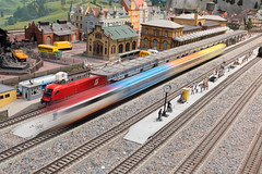 Fort Victoria Model Railway - DSC00258 (s0ulsurfing) Tags: west island coast model fort railway victoria coastal isleofwight coastline february yarmouth isle wight 2016 s0ulsurfing wight
