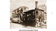 Manila-Malabon Tram with front window shot out 1900 (SSAVE w/ over 5 MILLION views THX) Tags: philippines manila spanishamericanwar steamtram manilamalabon