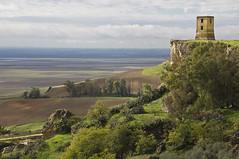 Atalaya  -  Watchtower (ricardocarmonafdez) Tags: sky tower clouds canon landscape sevilla torre paisaje cielo nubes atalaya lavega watchtower carmona losalcores ricardocarmonafdez