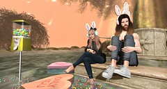 bunnies (aarontj90) Tags: male beard cool mesh hipster sl secondlife burley dossier 2pm tmp treschic nikotin slfashion monso barberyumyum deaddollz urbanwealth chicchica urbnw sanarae