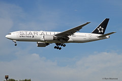 Special Livery, United Airlines - Star Alliance, Boeing 777-200 (Ron Monroe) Tags: boeing lax airlines 777 airliners unitedairlines staralliance klax n218ua
