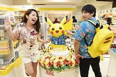 Pikachu! (JAPANKURU.COM) Tags: travel japan dinner shopping couples international advice okinawa japanesefood naha marche japanesestyle kokusai pengin japanesecouples hapinaha