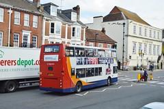 Dennis Trident (PD3.) Tags: uk england bus buses broadway hampshire alexander dennis winchester stagecoach psv pcv trident hants lyw 18504 kx06 kx06lyw