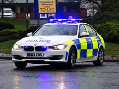 West Midlands Police BMW 330d Traffic Car (OPS190) BK63 ZDS, Birmingham. (Vinnyman1) Tags: city uk england rescue west car station television demo airport birmingham closed traffic britain united great police railway kingdom plate cctv right number international crime automatic gb bmw operations service roads 20 emergency operation recognition circuit far services solihull wmp midlands unit 999 rpu enabled policing bhx 330d anpr zds ops190 bk63 pegida