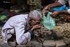Thirst - Varanasi, India (Maciej Dakowicz) Tags: city people india water market drinking varanasi thirst oldcity benares