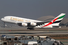 Emirates Airbus A380-861 A6-EEP (Mark Harris photography) Tags: plane aircraft aviation lax spotting