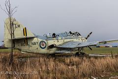 Fairey Gannet XG-882 (B.B.Photography.) Tags: urban abandoned plane nikon navy royal d750 fairey t5 nikkor exploration f4 gannet errol 24120