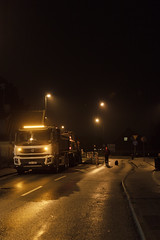 IMG_28083 (Falckaren) Tags: road car rain night canon streetlight sigma rainy maintenance muddy 1835 550d
