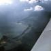 Bahamas 1989 (398)  Flug nach Abaco