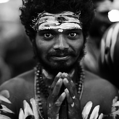 Thaipusam - Singapore (ale neri) Tags: street portrait people blackandwhite bw singapore indian streetphotography thaipusam aleneri alessandroneri