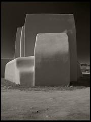 Ildefonso Pueblo, NM (hamsiksa) Tags: newmexico church architecture indian pueblo nativeamerican adobe sacred sanildefonsopueblo