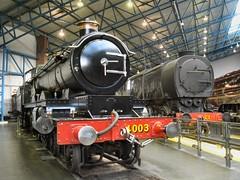GWR 4-6-0 4003 'Lode Star' alongside SR Q1 0-6-0 C1 (WelshHatter2000) Tags: york steam locomotive sr nationalrailwaymuseum c1 060 lodestar gwr 460 bulleid 4003 churchward q1class