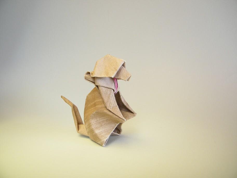 Roda Tags Monkey Mono Origami Macaco Akira