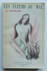 Charles Baudelaire: Les fleurs du mal (alexisorloff) Tags: books livres baudelaire posie lesfleursdumal vintagecovers alexisorloff couverturesillustres janserge