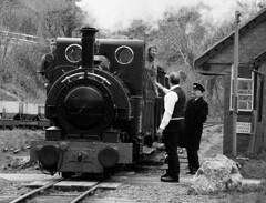 TR 43870crbw (kgvuk) Tags: station trains railwaystation locomotive railways tr steamlocomotive northwales talyllyn brynglas narrowgaugerailway talyllynrailway 042st brynglasrailwaystation