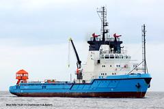 Blue Alfa (andreasspoerri) Tags: dänemark cuxhaven versorger bluealfa imo7921007 maerskdetector danyardfrederikshavn assoquattordici augusteaquattordici