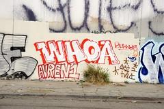 WHOA (STILSAYN) Tags: california graffiti oakland bay east area whoa 2016