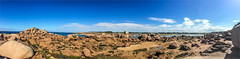 _granitrose (l--o-o--kin thru) Tags: panorama france frankreich bretagne granit granitrose