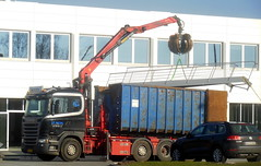 Scania R450 AL23346 loads scrap staircase (sms88aec) Tags: staircase scrap loads scania r450 al23346