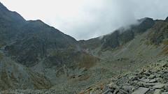Podejście na przełęcz Banikov