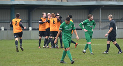 New Mills 1-2 Burscough (KickOffMedia) Tags: park new england game net sports senior loss sport club ball manchester stand football goal referee shoot play shot post cheshire kick terrace stadium soccer north atmosphere ground player staff points fields match pitch kickoff fans draw manager northern fc mills score premier spectator tackle league throw penalty midfielder burscough supporters grassroots striker defender skill goalkeeper keeper stadia nonleague linesman manchesterfootball