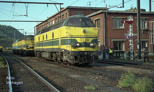 1999. NMBS 5508 en 5517 te Kinkempois