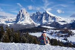 (Pampas_wkl) Tags: winter italy rocks europe sassolungo