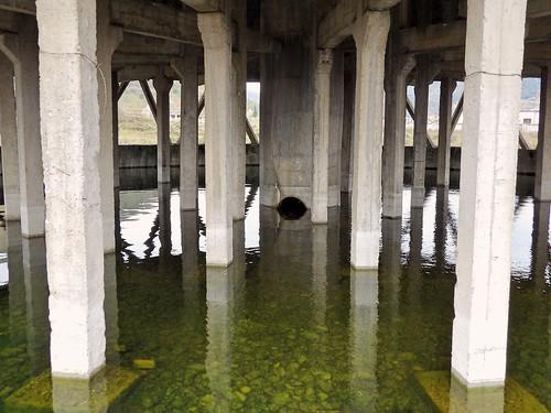 La cheminée les pieds dans l'eau