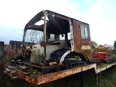 Crew Cab Low Loader - McKibbin Bros Cullybackey County Antrim (Jonny1312) Tags: truck rust cullybackey lorry scrap aec crewcab killyless mckibbinbros