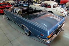 Mercedes-Benz 250SE Cabrio W111 (1967) (The Adventurous Eye) Tags: auto classic cars museum mercedesbenz moto oldtimer cabrio muzeum w111 kopřivnice 250se