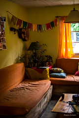 Rincn especial del Hostel (Fotografas Daiana Soriano) Tags: world wood travel family people music mountain color tree travelling argentina mom foot loveit viajes montaa tra byw villalaangostura