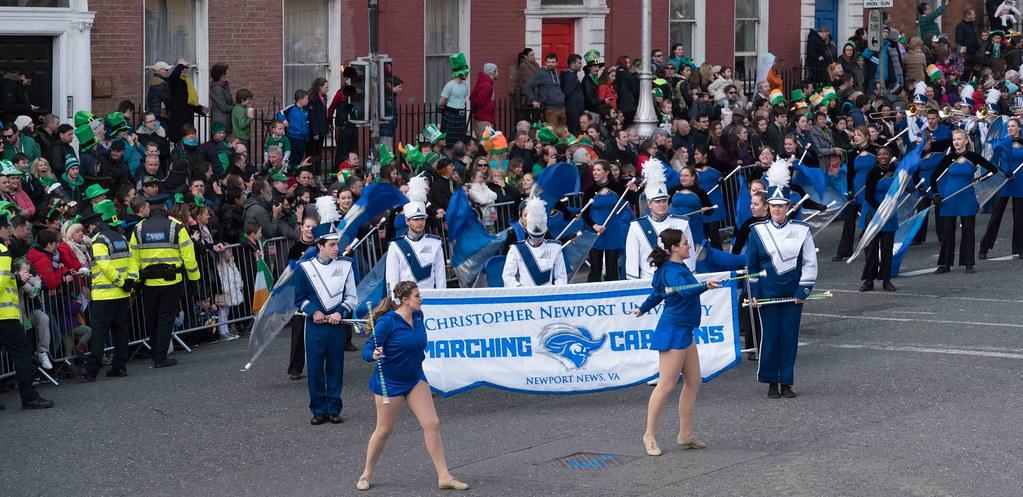 Christopher Newport University Marching Captains-112419