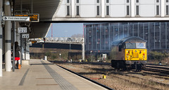 Colas Railfreight Class 56 no 56113 at the beginning of it's light engine move to Eastleigh on 14-03-2016 (kevaruka) Tags: uk greatbritain winter england sun color colour heritage history colors sunshine station weather composition train canon eos march flickr colours unitedkingdom derbyshire sunny trains historic explore trainstation gb 5d locomotive frontpage derby freight britishrail sunnyday freighttrain eosdigital 2016 drs colas networkrail class37 derbystation class56 56113 directrailservices canon5dmk3 5dmk3 5d3 eos5dmk3 5diii thephotographyblog canon70200f28ismk2 canoneos5dmk3 ukrl 14032016