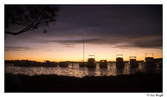 Last Light (Right On Photography) Tags: swansea boats lakemacquarie