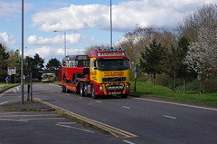 IMGP0076 (Steve Guess) Tags: uk england bus museum cub surrey gb cobham trailer weybridge leyland brooklands byfleet