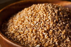 Raw Organic Whole Grain Cracked Wheat (brent.hofacker) Tags: food brown white yellow closeup breakfast asian cuisine wooden vegan healthy raw dish natural background wheat grain cereal harvest dry spoon gourmet whole health meal vegetarian carbohydrates organic diet agriculture fiber heap groats cracked agricultural nutrition dieting nutritious ingredient vitamin bulgur durum wholegrain nutrient bulghur crackedwheat