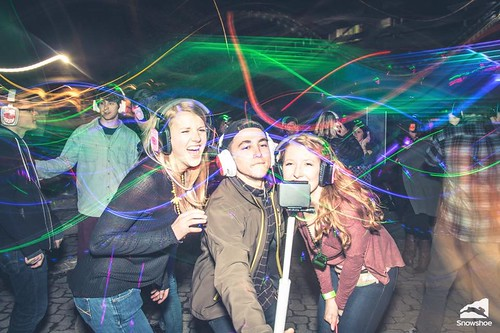 """Photo credit: Kurtis Schachner. Taken at the silent disco at Snowshoe Mountain featuring DJ V. Powered by Silent Storm • <a style=""""font-size:0.8em;"""" href=""""http://www.flickr.com/photos/33177077@N02/25942614286/"""" target=""""_blank"""">View on Flickr</a>"""