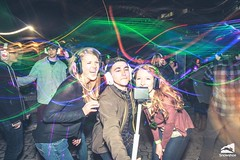 Photo credit: Kurtis Schachner. Taken at the silent disco at Snowshoe Mountain featuring DJ V. Powered by Silent Storm