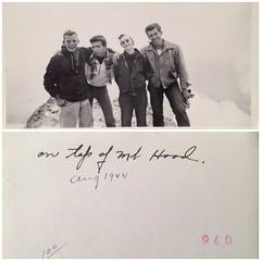 guys on mt. hood, 1944 (rcakewalk) Tags: bw vintage guys mthood 1944 norelation