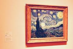 Van Gogh. MoMA. NYC. (baileyburg3) Tags: nyc moma vangogh starrynight