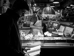Chelsea Market (ffela) Tags: newyork blackwhite streetphotography chelseamarket explored
