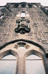 St. Michaels Cathedral (traceur.st) Tags: ireland film 35mm lomography cathedral fujifilm grainisgood praktica analogphotography nofilter photooftheday analogcamera shootfilm filmisnotdead keepfilmalive filmisbetter filmcommunity filmfeed believeinfilm buyfilmnotmegapixels analogfeatures analoguevibes